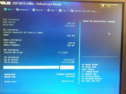Asus-EB1037-UEFI-BIOS-Main